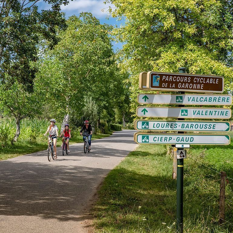 Parcours cyclable Garonne